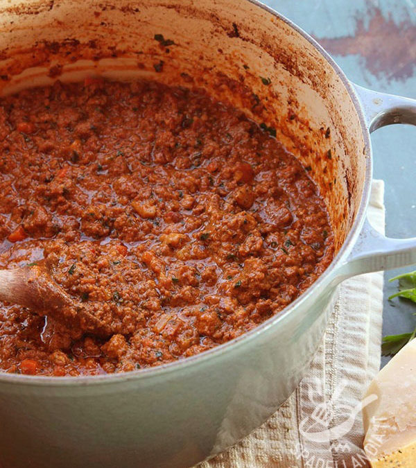 Ragu meat sauce bolognese